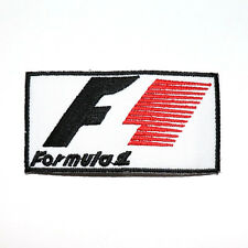 F1 Formula 1 Super Sports car Racing Automobil Embroidered Jacket Iron on Patch