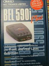 Bel-Tronics Radar Laser Detector Bel 590i Plus w/ front & rear laser detection