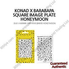 KONAD X Barabapa Stamping Schablone Honeymoon