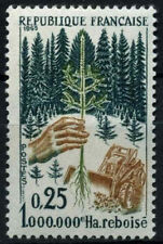 Francia 1965 SG#1693 #D39937 de repoblación forestal estampillada sin montar o nunca montada