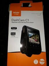 New listing Roav Dashcam C1 Sony Exmor Fhd 1080P WiFi Loop Recording (New, box opened)