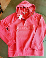 Lacoste Men's Pullover Jacket Hoody.  Red Size Adult Small $185