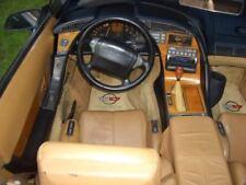 C4 Corvette 1992-1993 Auto Rosewood Interior Dash / Trim Overlay 5pc Kit