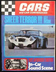 CARS & CAR CONVERSIONS Magazine April 1971 Exeter Trial JANSPEED AVENGER TEST