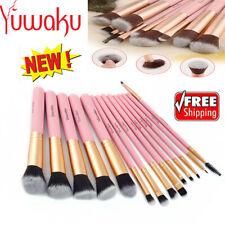 14Pcs Makeup Brushes Tools Foundation EyeBrow Eyeliner Set Hot Amazing Use US