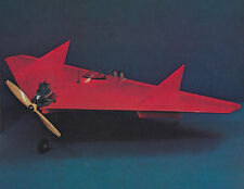 Lil Toad Delta Wing Aerobatic Sport Plane Plans, Templates and Instrucitons 30ws