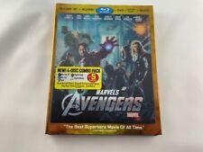 The Avengers (Blu-ray/DVD, 2012, 4-Disc Set)
