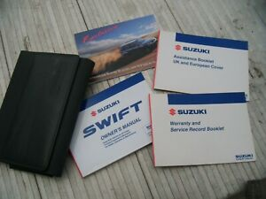 Suzuki Swift 2005-2010 OWNERS MANUALS SERVICE BOOKLET WALLET etc