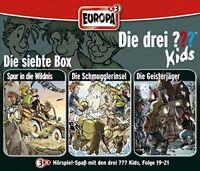 DIE DREI ??? KIDS - 07/3ER BOX (FOLGEN 19-21) 3 CD NEW