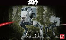 Bandai 1/48 Scale Model Kit Star Wars AT-ST All Terrain Scout Transport Walker