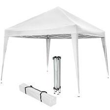Gazebo pieghevole da giardino tendone fisarmonica tenda per festa eventi 3x3 bia