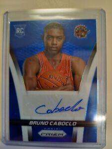 Panini Prizm 2014 2015 Bruno Caboclo RC Card Signature