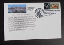 Scott# 3854 Lewis & Clark Special Card. New Town ND 58763, Aug 18, 2006 Postmark
