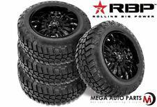 4 RBP Repulsor M/T RX 35X12.50R18LT 123Q 10-Ply/E Off-Road Truck Mud Tires