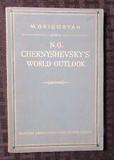1954 N.G. Chernyshevsky's World Outlook by M. Grigoryan FN- 76 pgs