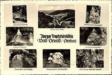 IBERG B. bagno resina di base 1954 8 volte più mappa immagine andato AK dopo Teltow