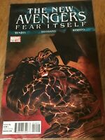 THE NEW AVENGERS FEAR ITSELF COMIC BOOK #14 Marvel 2011