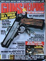Guns & Weapons For Law Enforcement Nov 1998, FBI's Bureau Model .45 ACP