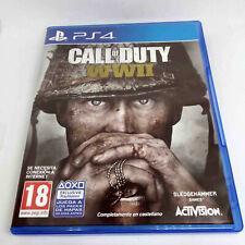 CALL OF DUTY WW II  / PS4 PLAYSTATION