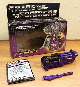 Transformers 1985 g1 Astrotrain 100% COMPLETE in very good condition