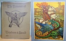 1910 Romance of Tristram & Iseult COLOUR ILLUSTRATED Maurice Lalau Fairy Tale