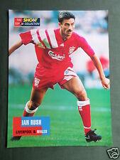 Ian Rush-Liverpool e Gales - 1 páginas de imagen recorte/Corte