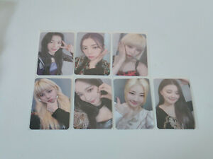 Purple Kiss Into Violet makestar message photocard
