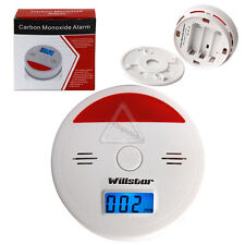 LCD CO Carbon Monoxide Detector Poisoning Gas Warning Alarm Sensor Monitor(UK)