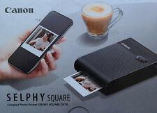 Canon Selphy Square QX10 Fotodrucker, schwarz, neu, OVP