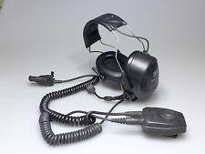 3M PELTOR HAEDSET MT7H79A W PUSH TO TALK PTT CONTROLLER  FL5018 PTT MOTOROLA