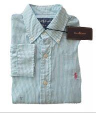 BNWT Men's Polo Ralph Lauren Button Up Shirt - Small - Slim Fit