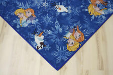 Kinder Teppich Spielteppich Eiskönigin Frozen blau 200x300 cm Elsa Olaf Anna