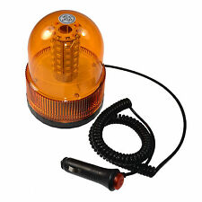 Amber Magnetic Emergency Warning Beacon LED Strobe Lights for Maximum Visibility