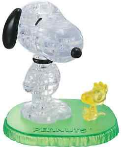 *NIB* Be Puzzled 3D Crystal Puzzle - Peanuts Snoopy with Woodstock