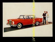 MERCEDES-BENZ 220 S Heckflosse * Offizielle AK 1959