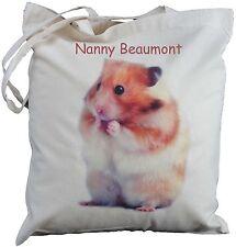Personalizzata CRICETO cotone shoulder Bag PET SHOPPER