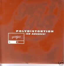 GUSGUS Gus Gus Polydistortion CARD ADVNCE PROMO CD 4AD