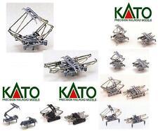 KATO NEW 11-420 PAIRE ROUTEURS BOIS UNIVERSELS TYPE FS métal et PLASTIQUE