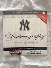 Yankeeography DVD Sampler Volume 1 & 2 YES Network Yankees Ruth Munson Jeter