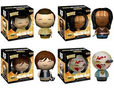 The Walking Dead - 4 figuras set-funko-dorbz-Daryl, Walker, Rick, Michonne