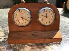 Red Fellows Solora Vintage Swiss Chess Clock Working Condition