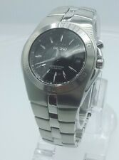 Seiko SKA203P1 Arctura Kinetic men's watch 5M62-0AL0 analog 5 ATM stainless st