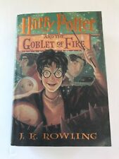 Harry Potter and the Goblet Of Fire 1st Edition HB/DJ Rowling Book