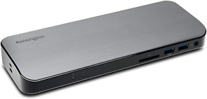 Kensington - New Thunderbolt 3 Docking Station SD5300t - SD Card Reader, 135W 4K