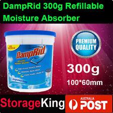 DampRid 300g Refillable Moisture Absorber Mini Air Dehumidi Quite Bathroom Aus