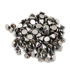 100Pcs 10mm Stud Round Spike Rivet Craft Bag Leather Diy Craft Accessories CN
