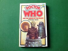 More details for doctor who and the genesis of the daleks first edition (target) terrance dicks