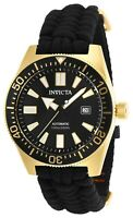 Invicta 29565 Pro Diver Men's 46mm Stainless Steel Gold Black Dial Automatic