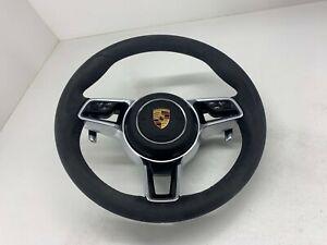 Porsche Macan 95B Carrera 991 970 958 Alcantara Multifunction Steering Wheel