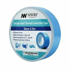 """30mm X 25m (1.18"""" x 82') Thermal Conductive Adhesive Tape for Coolers, Heat Sink"""